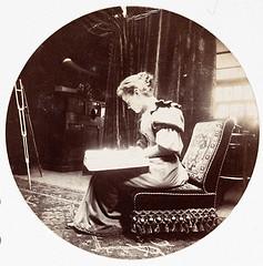 Woman reading, about 1890  National Media Museum - Kodak Gallery Collection via Flickr commons