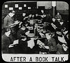 Work with schools : After a book talk, NYPL ca. 192-