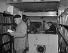 Anglesey Mobile library - door to door service! 1958