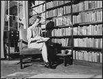 Geraldine Fain Browses in the Free Library