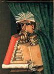Giuseppe Arcimboldo's The Librarian