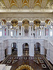 Great Hall. View from the second floor west corridor. Library of Congress Thomas Jefferson Building, Washington, D.C. 2007