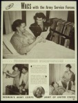 WACs with the Army-Librarian