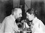 Egyptologist and Librarian Hans Ostenfeld Lange and his wife Joanna