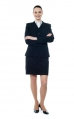 Full Length of Business Woman