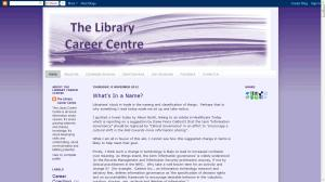 Library Career Centre