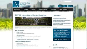 METRO Career Resources and Job Bank