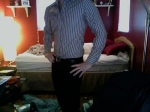 Outfit for interview by Flickr user Josh Delsman