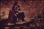 Hunter and Daughter before Sunset Waiting for a Deer...National Archives at College Park via Flickr commons