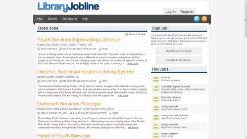 Library jobline