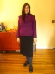 Aleta she's ready for the interview :) by Flickr user mayhem