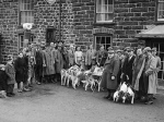 Farmers' Hunt in Llanbrynmair on New Year's Day