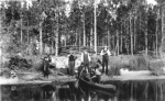 Hunting party on the shore State Library and Archives of Florida