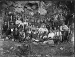 Hunting party, probably Christchurch district, [ca 1915]