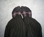 Interview Socks by Flickr user Angie Andriot