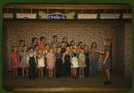 School children singing, Pie Town, New Mexico (LOC)