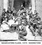 Keene High School (old) Graduating Class of 1875, Keene, New Hampshire