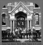 Keene High School (old) Students, Keene, New Hampshire
