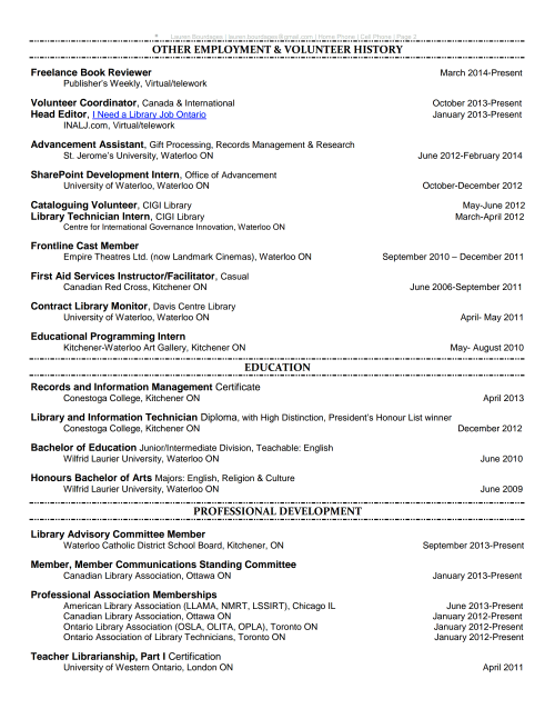 LaurenBourdages-Resume-Page 2