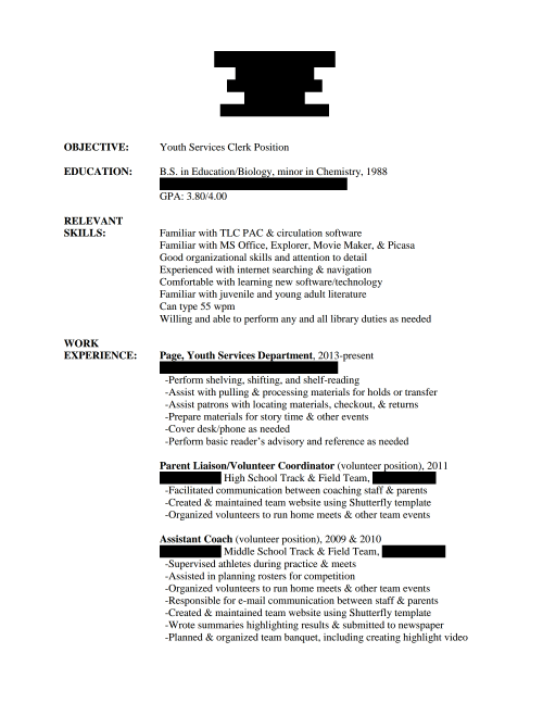 Stay At Home Mom Resume Template | Resume Format Download Pdf