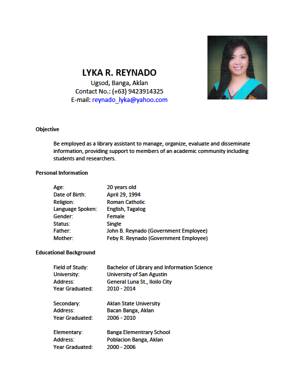 resume 3 pages