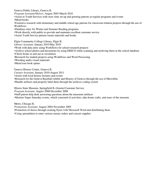 resume review hiring librarians page 5