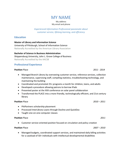 resume unnamed job hunter 12