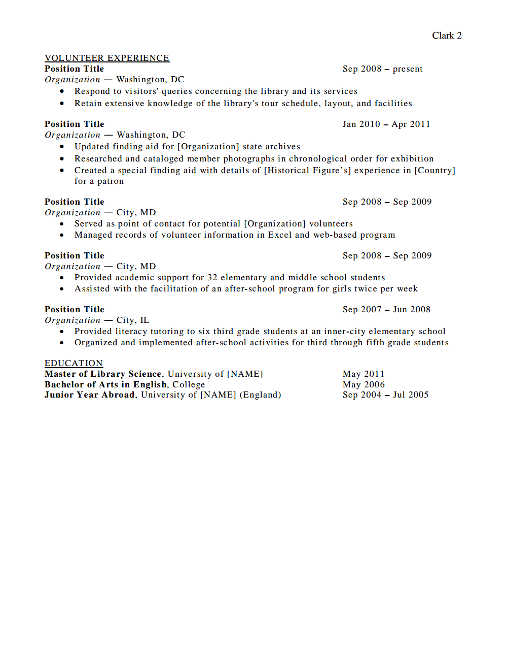 resume submit for job