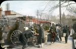 View of street vendors at 7th and B Streets, NW (Ca. 1880) Market